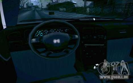 Honda Accord Wagon für GTA San Andreas Innen