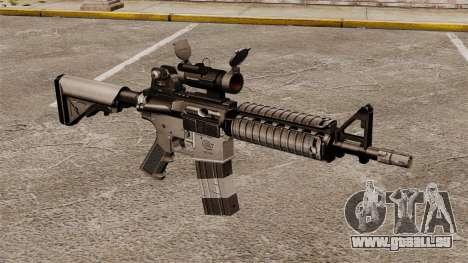 Automatique carabine M4 CQBR v2 pour GTA 4