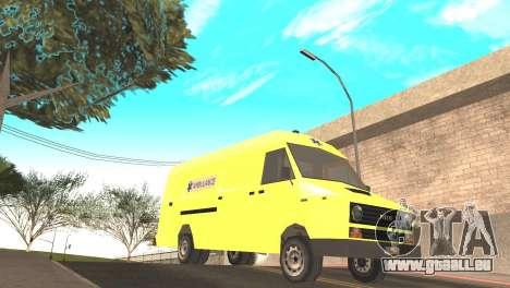 Iveco Daily 35 I minibus 1978 für GTA San Andreas rechten Ansicht