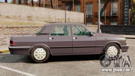 Volga gaz-3110 pour GTA 4 est une gauche