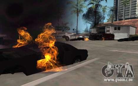 GTA V to SA: Realistic Effects v2.0 für GTA San Andreas zweiten Screenshot