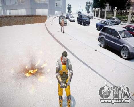 Gordon Freeman für GTA 4 Sekunden Bildschirm