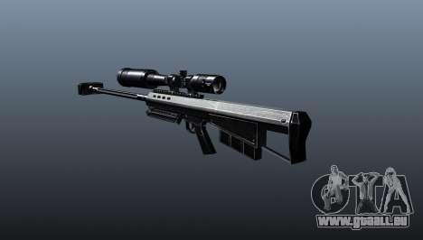 Barrett M95 Scharfschützengewehr für GTA 4 Sekunden Bildschirm