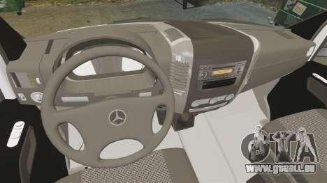 Mercedes-Benz Sprinter Zagreb Ambulance [ELS] für GTA 4 Rückansicht