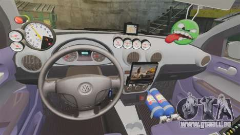 Volkswagen Gol Rally 2012 Socado Turbo für GTA 4 obere Ansicht