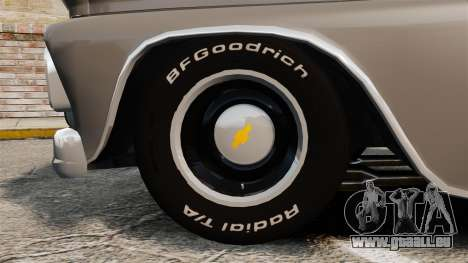Chevrolet C-10 Stepside v2 für GTA 4 Rückansicht