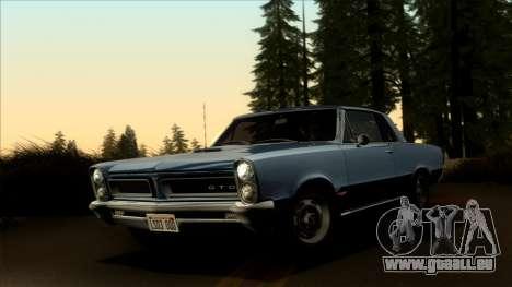 Pontiac Tempest LeMans GTO Hardtop Coupe 1965 pour GTA San Andreas
