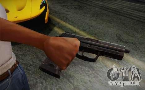 USP45 ohne Schalldämpfer für GTA San Andreas
