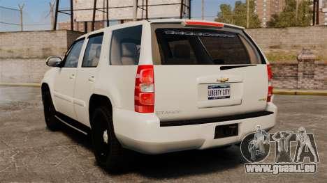 Chevrolet Tahoe Slicktop [ELS] v1 für GTA 4 hinten links Ansicht