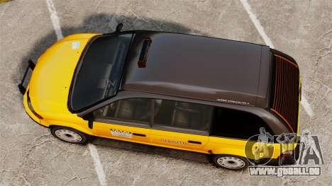 Verbesserte taxi für GTA 4 rechte Ansicht