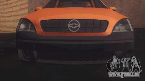 Chevrolet Montana Combo pour GTA San Andreas laissé vue