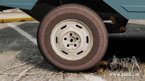 LuAZ-13021 pour GTA 4 Vue arrière