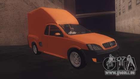 Chevrolet Montana Combo pour GTA San Andreas vue de droite