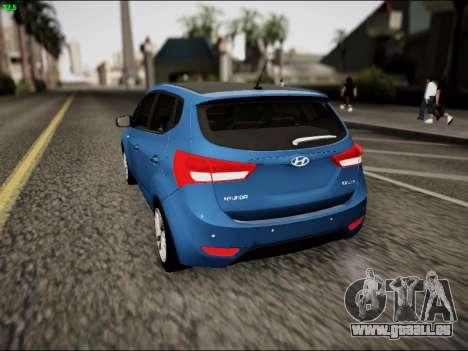 Hyundai ix20 für GTA San Andreas zurück linke Ansicht
