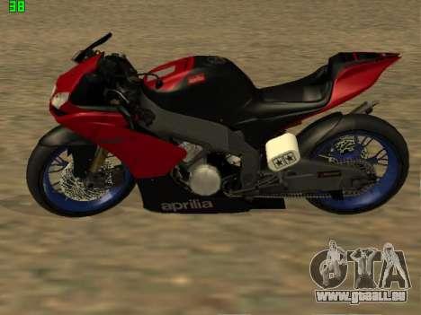 Aprilia RS50 pour GTA San Andreas