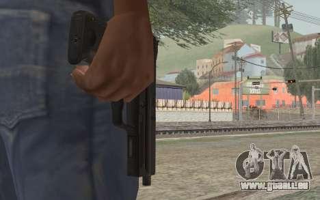 USP45 ohne Schalldämpfer für GTA San Andreas dritten Screenshot