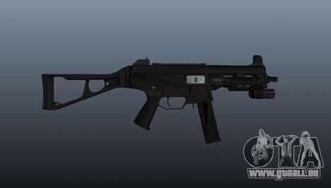 UMP45 mitraillette v2 pour GTA 4 troisième écran