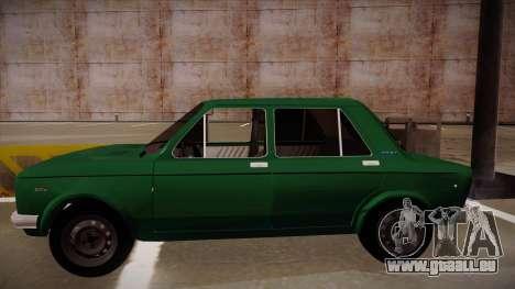 Zastava 128 1995 pour GTA San Andreas laissé vue