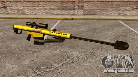 Le Barrett M82 sniper rifle v3 pour GTA 4