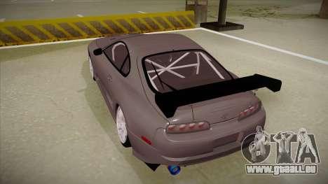 Toyota Supra RZ pour GTA San Andreas vue arrière