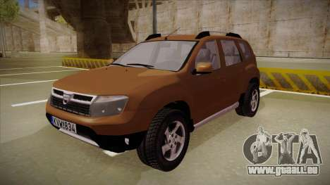 Dacia Duster Elite pour GTA San Andreas