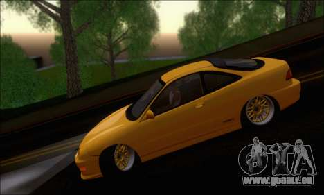 Honda Integra Type-R Hellaflush für GTA San Andreas Rückansicht