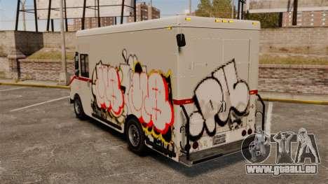 Neue Graffiti zu Boxville für GTA 4 linke Ansicht