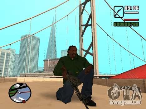 SDO pour GTA San Andreas deuxième écran