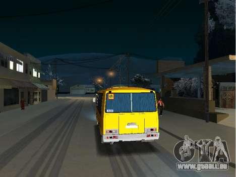 GROOVE School 32053-70 pour GTA San Andreas vue de droite