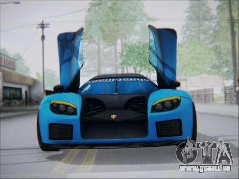 Koenigsegg CCX Elite pour GTA San Andreas