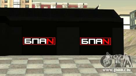 Le garage de Doherty BPAN pour GTA San Andreas quatrième écran