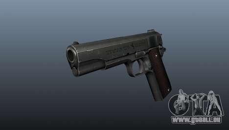 Pistolet M1911 v5 pour GTA 4