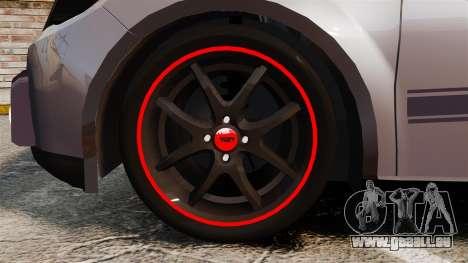Volkswagen Gol Rally 2012 Socado Turbo für GTA 4 Rückansicht