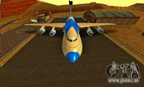 Andromada GTA V pour GTA San Andreas vue de droite
