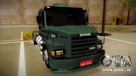 Scania 113H für GTA San Andreas linke Ansicht