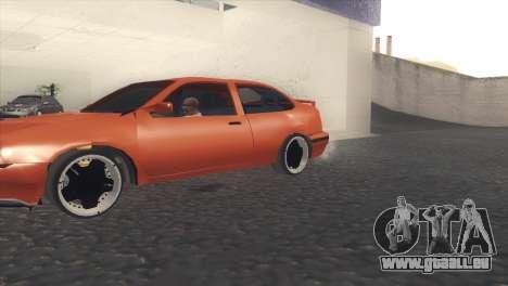 Seat Cordoba SX pour GTA San Andreas laissé vue