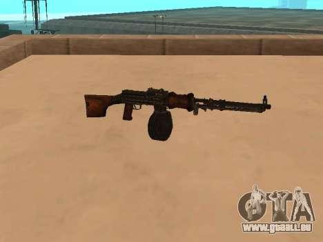 Mitrailleuse légère (RAP) [Réf. nécessaire] pour GTA San Andreas