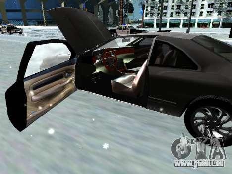 Lincoln Continental Mark VIII 1996 für GTA San Andreas Seitenansicht