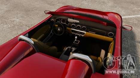 Turismo Spider pour GTA 4 est un droit