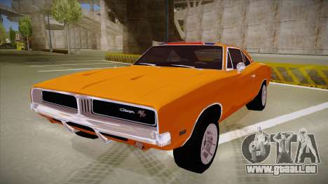 Dodge Charger 1969 (general lee) für GTA San Andreas