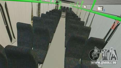 LIAZ-5256 45-01 pour GTA 4 est une vue de l'intérieur