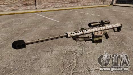 Le Barrett M82 sniper rifle v5 pour GTA 4 troisième écran