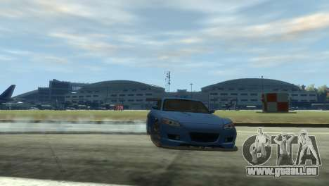 Mazda RX-8 R3 für GTA 4 Rückansicht