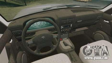 Volga gaz-3110 pour GTA 4 est un côté