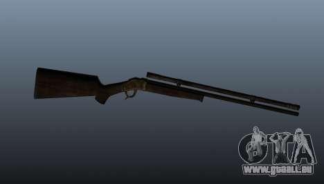 Fusil Remington Rolling-Block pour GTA 4 troisième écran