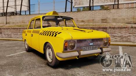 IZH-moskvitch 412 pour GTA 4