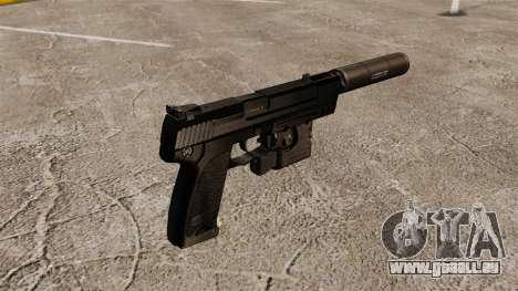 Pistolet HK USP pour GTA 4 secondes d'écran