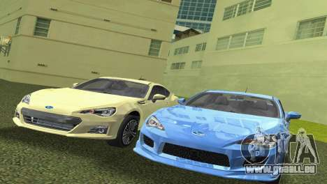 Subaru BRZ Type 3 für GTA Vice City linke Ansicht