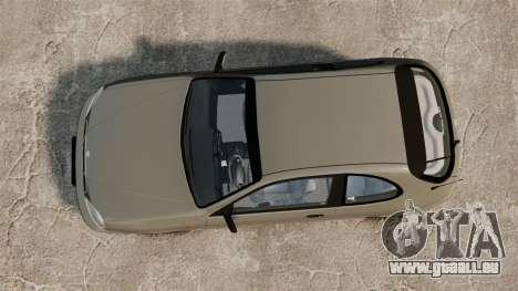 Daewoo Lanos 1997 PL für GTA 4 rechte Ansicht