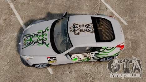 Nissan 370Z für GTA 4 rechte Ansicht